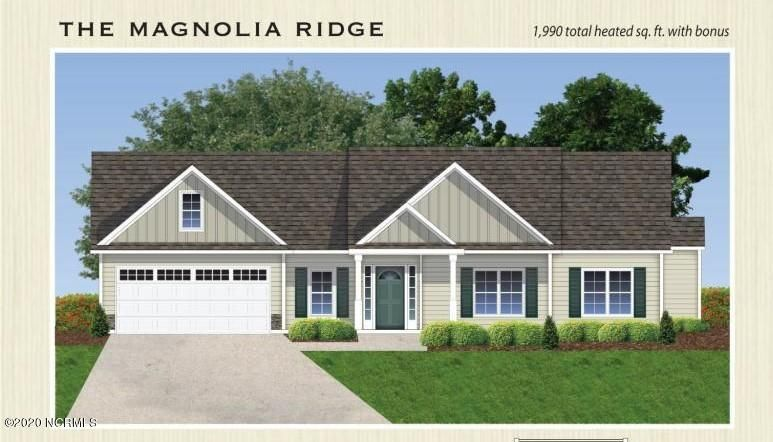 The Magnolia Ridge. A picturesque home in Maidstone Park. Get welcomed with a covered front porch to enjoy cool summer nights or chilly mornings and coffee. Open concept living and kitchen space. The master suite features tray ceilings and tons of natural light while the master bath proves more than worthy with a stand up shower, soaking tub, double vanity sink and a huge master closet. Call this place home!