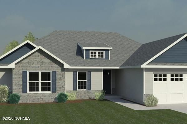 Come see the beautiful Brookings 1673 square foot home plan at Sterling Farms. This 4 Bedroom 2 Bath home has all of the features you want throughout this spacious plan, such as large master suite with tub, shower, separate sinks, walk in closet, living room with fireplace, and the list goes on! Ceiling fans, stainless appliances, and that's not all! Vinyl siding and exterior offers a charming curb appeal, as does the sodded front yard and landscaping. Come see for your self all the extras this home offers! Call today to schedule your appointment to see your dream home! NOTE: Floor plan renderings are similar and solely representational. Elevations and measurements, among other things, may vary in the final construction. Call to verify.