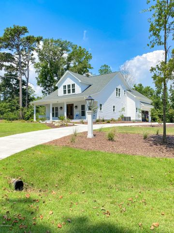 Southern Low Country Home in a water access community.  This beautiful home is a proposed construction.  Similar home is built in Hampstead and can be viewed by appointment only.  Serious inquiries only.