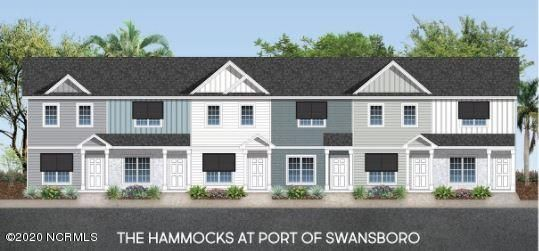 This is an End Unit!!!Welcome to The Hammocks at the Port of Swansboro! Just minutes from historic downtown Swansboro, Camp Lejeune, Crystal Coast beaches, dining, entertainment & more! The amazing interior features throughout are the most sought after and include granite countertops, painted cabinets, LVP flooring. Once you step into the home, you'll notice the large open floor plan. For convenience there is a half bath located on the main level. This home has a spacious kitchen that opens to the living room, allowing for easy entertaining. The second floor is sure to impress with 2 large bedrooms complete private bathrooms. Enjoy the Carolina breeze on your large back porch. Call today to schedule your personal showing.