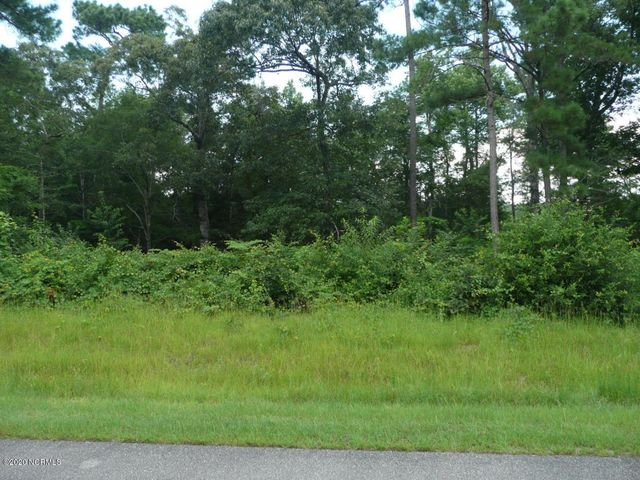 Beautiful waterfront lot in Kings Harbor with easy access to the Intracoastal Waterway. The home site is partially wooded on high elevation with gradual sloping to the water and the ability to add a private boat dock.  The deep water boat launch and day dock area for the community is within view of the property and Topsail Island beaches are only a short distance away. There is a current 4 bedroom perk. Seller financing is available.