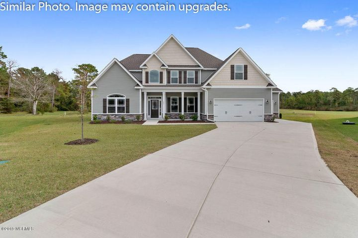 This new contstruction home features the coveted Greycliff floor plan. It boasts beautiful archways and columns throughout the home and includes a gorgeous catwalk overlooking the family room. Stunning granite countertops top off a spacious kitchen with breakfast nook. Plenty of room for entertaining in this home...the first floor includes a living room, formal dining and spacious family room. A beautiful two story foyer will greet your guests along with added details such as hardwood floors and vaulted ceilings. A first floor master suite with large walk in closet and attached sitting room. The second floor boasts three additional spacious bedrooms with trey and vaulted ceilings and large closets. This home is truly a unique plan and offers over 3500 hsf. The home is situated on a 3.71 lot which backs up to the intercoastal water way.