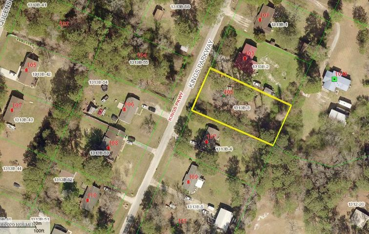 Location! Location! Location! Almost half an acre of land. Close to shopping, a short commute to base - just 10 minutes to the Piney Green Gate, and when you're ready to relax only 10 minutes to Hammock's Beach State Park. Trees on lot offers privacy. You don't want to miss the opportunity to build your dream home in this quiet and cozy neighborhood.Zoned R-20, prohibiting mobile homes.