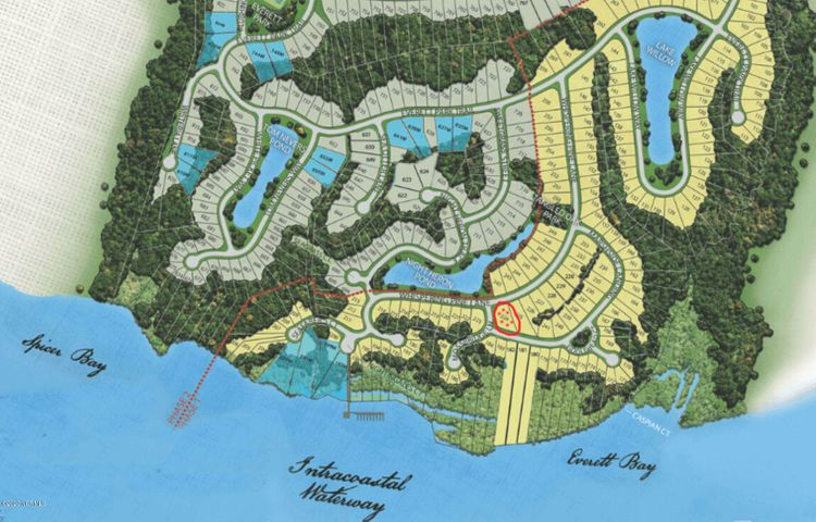 Really nice homesite in Summerhouse with outstanding views  of the ICWW, and priced to sell! Come take a look. Build your dream home in this beautiful waterfront community.  This home is just across  from the intercostal waterway.  Unwind with a relaxing boat ride on the ICWW each day after work :)  Summerhouse is a luxury waterfront community in southeast NC. Community  amenities include: a really nice clubhouse with a resort-style pool, fitness center, boat ramp, boat storage,  day docks, tennis,  pickle-ball, court, basketball court and so much more. Call for access to view the homesite or call with any questions.