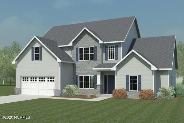 *Builder is offering $5000 in Use As You Choose! Welcome to the Berkley at Oyster Landing! This fantastic home is gorgeous inside and out. Step in to the soaring 2 story foyer and gaze at the lovely formal dining area with custom trimwork. Walk in to the chef's kitchen complete with tons of cabinet and counter space, stainless appliances, a HUGE pantry, a beautiful island, and a large eat in area. Go on through to the living room and enjoy the warm open space with a cozy fireplace. And then there is the FIRST FLOOR OWNER'S SUITE. This gracious space boasts a tray ceiling, a massive walk in closet, and a bath with a dual sink vanity and separate soaking tub from shower. Upstairs you will find four more bedrooms and two more full baths. One bedroom even has its own attached sitting area and a walk in closet. Come see the Berkley and find your dream home! *Buyer to verify schools. Room dimensions and heated square footage may vary. Builder reserves the right to alter floor plan and features. Photos and cut sheets are representations only. *This lot contains some 404 Wetlands