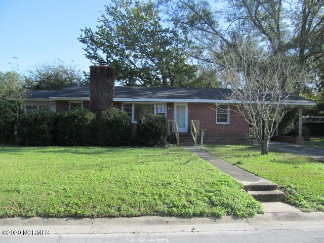 Three bedroom, one bath ranch style home located in center of Jacksonville. Conveniently located close to shopping, restaurants and beaches.  Kitchen with breakfast area.  Living room offers fireplace to enjoy on those chilly nights.  Enclosed porch or mudroom (not heated).  Laundry room is an addition with a separate entry that includes half bath (not heated).  One car carport.  Shed for extra storage. Equal Housing Opportunity. Property owned by US Dept. of HUD [381-821629]. FHA IE (insured w/escrow), Subject to Appraisal. 203K eligible. Seller makes no representations or warranties as to property condition. Sold as is. Seller may contribute up to 3% for buyer's closing costs, upon buyer request. Properties to Include LBP Pre-1978 Notice.