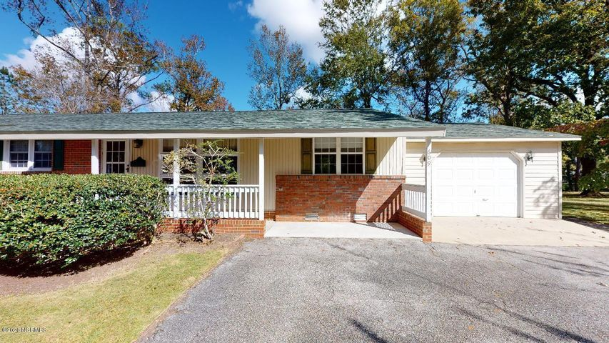 This 3 bedroom ranch style home with a bonus room is located in a quiet cul-de-sac in the sought after neighborhood of Northwoods, which is one of the few areas in Jacksonville that has mature trees throughout the neighborhood. This one story home has a formal living room, a large dining area off the kitchen and a large bonus room next to the one car garage - it is big enough for a variety of activities. The bedrooms are located down the hall - the master bedroom features a full bathroom with a step-in shower. The backyard features a workshop/storage building with a wood patio. Plus the home has a deck for enjoying a quiet afternoon overlooking the large backyard. The home has been well taken care of - roof is only 5 years old and the yard is over 1/2 acre and is well maintained. Must see!