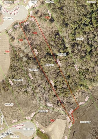 Intracoastal waterfront lot available to build your forever or vacation home on. Hogan's Landing is located on the Intracoastal Waterway in the Bear Creek area of Hubert. This .88 acre lot has a 4 bedroom septic permit on file. Conveniently located, just 2 miles from the Hwy 172 gate to Camp Lejeune, 2 miles to the wildlife boat ramp, 2 miles to schools and shopping and 10 miles to beautiful Emerald Isle beaches.