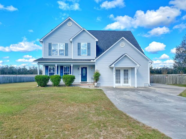 Welcome to this gorgeous home, located on a quiet country lot . You are welcomed through the foyer into the open living room and kitchen. The kitchen has been updated with new floors and backsplash with a walk-in pantry. Also with a separate dining room. Spacious living room with a fireplace for those fall evenings. You can entertain the entire family in the bonus room. Upstairs you will find the master bedroom with a large walk-in closet and spacious bathroom.  As well as 2 additional bedrooms with a full bath. Included is this huge laundry room that is located upstairs and tons of extra closet/storage space. Step outside to your spacious backyard that boast your screened in porch and large deck. All situated on a half acre lot in the nice quiet country side of Richlands.