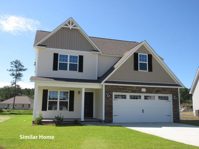 THE SEARCH IS OVER...Peytons Lake in Hubert. A Short Drive to the 172 Gate of Camp Lejeune, Historic Downtown Swansboro or The Beaches of Emerald Isle. A Quality Home Built by One of the Oldest, Most Well Established And Respected Builders in Onslow County. The '''Vander''''is a 2 Story Home Offering 4 Bedrooms 2.5 Baths, Master Suite on the First Floor, The other 3 Bedrooms & A Study on the 2nd Floor with approximately 2419 Heated Square Feet. Of Course this Builder has all their Other Great Features in these Craftsman Style Homes to Include A Mixture of Siding Choices with Stone Accents on the Exterior, Vinyl Windows, Ceiling Fan, Walk In Closet. Need A Home Now? Move In & Rent Until Closing. Lenders Are Available Offering Assistance with Financing. Estimated Completion 4/1/2021. Please Call or Text for More Info