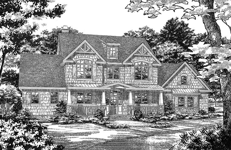 There is a LOT TO LIKE about this one. To be built in one of the most desirable gated waterfront communities of Pecan Grove Plantation and within Pender County School District. This elegant farmhouse will be built on a wooded, cul-de-sac lot thats well over one half acre. This agreeable BLARNEY Floor-plan by AnA Builders will certainly please!Beautiful neighborhood, golf cart friendly streets, a fitness center, resort style swimming pool, a game room, tennis courts with lights, a clubhouse, day docks and gazebo on the ICWW, boat ramp, launch, boat house and lot storageModern farmhouse floor plan with 4 bedrooms, 3.5 bathrooms and lots of indoor and outdoor flex space. This home features an open kitchen with a large center island, gas range with custom range hood, pantry with custom shelving, and a large farmhouse sink. The open floor plan offers vaulted ceilings in the living room and foyer with ample natural lighting from the large windows, curved banister in the open upstairs hallway, ventless gas fireplace with floating mantle, shiplap detail and brick surround with open shelving and lower cabinet storage on either side. The first floor also includes the master bedroom suite with two walk in closets, tray ceiling and spacious bathroom. The master bath has double vanities, a frameless glass shower door with ceramic tile and freestanding soaker tub. There is a family studio on the first floor that doubles as a laundry room and a flex space for a craft room or homework area. Another flex room is located next to the half bath that can be used for an office, study or guest room. The second floor offers a spacious bonus room with two additional bedrooms and two full baths.There is a 3 car side entry garage, a comfortable front porch perfect for rocking chairs or a swing, a screened porch off the dining area, and a covered porch off of the living room.