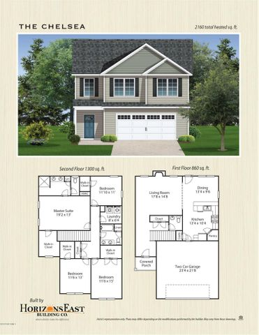Be the first to own a Chelsea floorplan by Horizons East in beautiful Peytons Lake! This house sits on a lovely lot, with its own pond access on the additional lot portion across Aria Lane from the house. A covered front porch welcomes you in to a formal foyer that leads you back to the open living space. The large living room opens into the dedicated dining area which is separated from the kitchen by a fantastic countertop bar. The kitchen has plenty of lovely gray cabinets and countertop space and is finished out by gorgeous stainless appliances and a white subway tile backsplash. You will be blown away by the upstairs space! ALL FOUR bedrooms boast walk in closets! The three spare bedrooms are all well sized and share a lovely full bath with a dual sink vanity right next to the convenient upstairs laundry. The owner's suite is really something to see! The en suite bath has a dual sink vanity, a linen closet, and a large stand up shower. Put this Chelsea on your list , you don't want to miss it! All similar photos and cut sheets are representations only. Builder reserves the right to alter floorplan and specifications. Buyer to verify schools. This lot contains some 404 Wetlands.