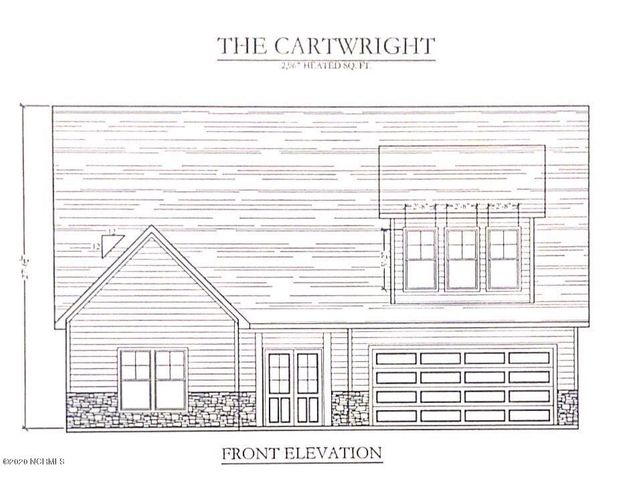 Builder is offering $3000 toward buyer closing costs! Be the first to own a Cartwright floorplan by Horizons East in beautiful Peytons Lake! This house sits on a lovely lot, with its own pond access on the additional lot portion across Aria Lane from the house. The covered front porch welcomes you in to the foyer with the garage to one side and the two downstairs secondary bedrooms to the other. Both rooms are nicely sized and share a lovely full bath. The owner's suite is on the complete other side of the house for maximum privacy. This suite includes a bedroom attached to a gorgeous en suite bath complete with a corner dual sink vanity, a separate soaking tub from the stand up shower, and a massive walk in closet! The main living area is wide open and features a large kitchen with the sink and dishwasher in an oversized island facing the living and dining area. This Great Room has a fantastic decorative ceiling and is large enough to use in a variety of ways. A powder room, laundry room, and mudroom round out the downstairs in fine fashion and now it's time to check out the upstairs! This bonus area is to die for! boasting a big loft area, a bedroom with dual closets, and a THIRD full bath! Don't miss out on your opportunity to call this house your new home! *Similar photos and cut sheets are representations only. Builder reserves the right to alter floorplan and specifications. Buyer to verify schools. This lot contains some 404 Wetlands