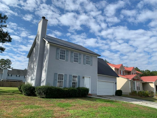 Great Location!  Come home to Aragona Village!  This 2-story home features living room with fireplace, dining area and kitchen with tiled flooring.  Upstairs has 4 bedrooms and two full baths.  Minutes to bases, shopping and coastal areas.  No HOA or City Taxes.  Call for a preview today!