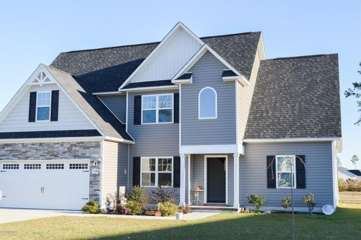 Step into one of the most popular floorplans that Atlantic Construction produces, the Camden with a bonus! Step into the foyer and decide to either entire your formal dining room or open floorplan living room. The main bedroom is downstairs and has a HUGE walk in closet and a massive soaking tub. Upstairs are 3 large bedrooms with a convenient laundry area. Also, there is another large bonus room that is finished!! The garage has all the space you need for 2 cars as well as a workbench or motorcycle storage area!! Check it out now! Don't forget to stop by the community pool!