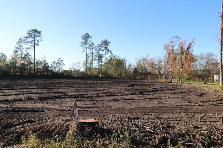 Land is cleared and ready for you to enjoy building your next home!2.54 acres with NO restrictions and NO HOA.  Build your dream home, bring your family pets and toys.   Great location - close the HWY 258 for easy access to all major jobs, shopping and bases.  Soil study complete.