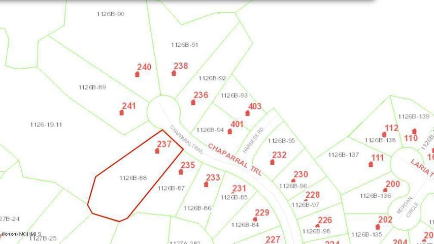 No HOA! Outside city limits. Residential lot in Horse Creek Farms, come build your dream home! Call today!