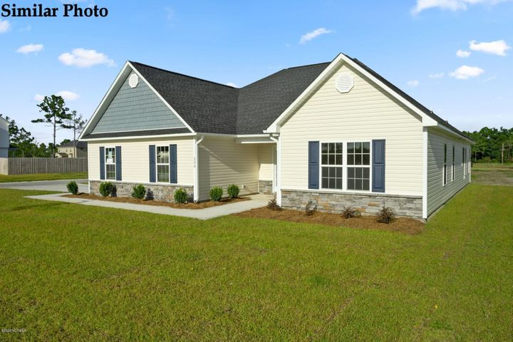 *Builder is offering $5000 in Use As You Choose! Welcome to the Ashby with Bonus at Oyster Landing! Come in from the covered front porch and explore all the open living space to one side while the bedrooms are all kept separate on the other. The large living room has a gorgeous tray ceiling and a corner fireplace. This gives on to the kitchen with a nice pantry and a separate dining area. The owner's suite also boasts a lovely tray ceiling and spacious walk in closet while the owner's bath has a separate soaking tub from the shower and dual sinks in the vanity. Bedrooms 2 and 3 are generously sized and share a lovely full bath. This Home also comes with a bonus room upstairs. Photos and cut sheet are coming soon! Come see the Ashby today, and fall in love! *Buyer to verify schools. Room dimensions and heated square footage may vary. Builder reserves the right to alter floor plan and features. Photos and cut sheets are representations only. Ex) the similar photos do not show the bonus room and the similar photos show upgrades like subway tile, upgraded cabinets, and upgraded LVP flooring in the living room. * This lot contain some 404 Wetlands