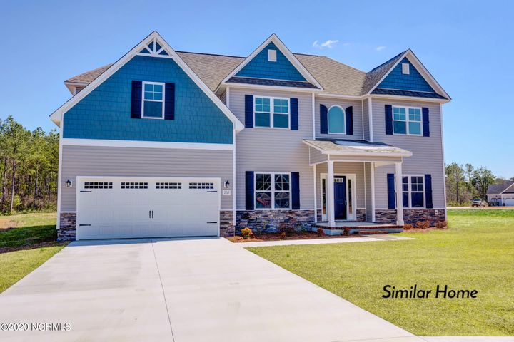 The Perfect Location!!! Welcome to Peyton's Lake!!! This beautiful community is located only minutes from beautiful North Carolina beaches as well as the back gate of Camp Lejeune! Residents will enjoy lovely pond, dog park, playground and NO CITY TAXES! The homes are pristinely landscaped for added curb appeal and adorned with a mixture of eye-catching stonework, carriage-style garage doors, two-toned vinyl siding, board and batten, and decorative shakes! The open floor plans are perfect for entertaining, and the rich cabinetry finishes and wall colors add warmth and dimension to the space. The large rooms and walk-in closets are also sure to please! For the buyer who has very specific design and color requests, these homes can be customized to reflect your own personal style. The diverse floor plans will also ensure that your needs for both functionality and aesthetic appeal are always met! Very affordable and built with a superior quality standard and customer service guarantee, this community's amenities, homes, value, and location are a very rare find! Schedule your showing today!!