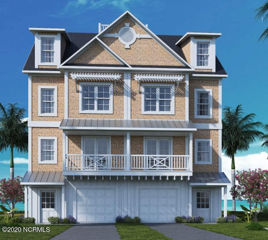 NOTE: This townhome has currently been reserved. Pre-construction prices are subject to change by the developer based on current construction costs. Luxury, waterfront townhomes are now available by reservation in the newly developing Inlet Cove on Radio Island. The best of both worlds, this prime location is just minutes by boat or car to Downtown Beaufort and Downtown Morehead City! Townhome owners are eligible to purchase an adjacent boat slip in the private and protected marina that provides easy access to the Beaufort Inlet and the ICW. Only some slips are available for these buildings, please check with the agent for details. Each spacious townhome will feature 3 bedrooms and 3.5 baths (with an optional 4th bedroom and full bath on the ground level), elevator shaft with optional 4-stop elevator addition, open concept living area, granite counters in kitchen, stainless steel appliances, single car garage, attic storage and ample closet space. There will be a total of 15 buildings comprised of a variety of: duplex, triplex, quadraplex, pentaplex and multiplex buildings. Exterior siding is cedar shake siding on floors 2 and 3 and fiber cement board & batten siding on floor 1. Inlet Cove amenities will include: community outdoor pool, community open-air clubhouse and access to the private marina. The Radio Island public beach access with bath facilities is conveniently nearby. Reserve your coastal townhome and boat slip today! Boat slips are dependent upon draught and beam of the vessel. The square footage was provided by the developer and is subject to change during the construction process.