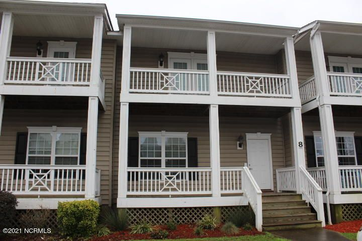 Two bedroom, two and a half bath townhouse located in The Hammocks at Port Swansboro. Downstairs living room and kitchen with a half bath and back patio. Upstairs bedrooms each feature a private full bathroom. Master bedroom includes access to the second story balcony. Gated community with pool, fitness room and clubhouse. Conveniently located to area beaches, bases, and more!