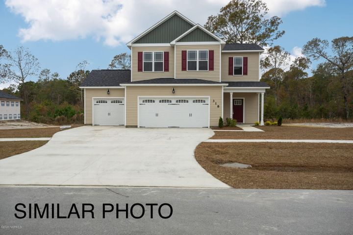 Introducing the Loblolly 3 Car Garage Floor Plan in Jacksonville's much desired neighborhood, The Farm at Hunter's Creek. Just minutes from the Camp Lejeune Piney Green gate, you will find this beautiful 1800+ sq. foot home with an attached three-car garage. The living room offers the perfect amount of space for entertaining! The gourmet kitchen offers ample cabinet and counter space. Escape to the Master Bedroom which offers a spa like bathroom! Call today for your private showing! More...