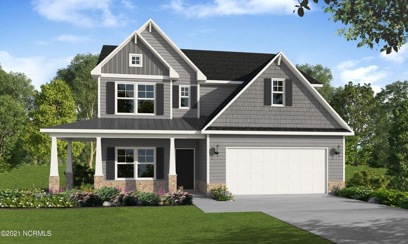The Rivermist by Caviness & Cates is a beloved favorite by all.  It features an open floor plan with a stunning two story great room.  The first floor master suite has his and her sinks and WICs and a private water closet.  The home is complete with a second story loft and three additional bedrooms.