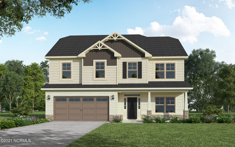 HOME IS UNDER CONSTRUCTION EST. COMPLETION JULY 2021!!! The Drayton features 4 bedrooms, 2.5 baths with over 2,300 sq. ft. of well-appointed living space.  The first floor boasts an elegant formal dining room with a coffered ceiling and wainscoting along with a large open kitchen with granite countertops.  The first floor also has a breakfast room, great room with a gas fireplace and a convenient half-bath.  The 2nd floor has a huge master suite with sitting room, 3 additional bedrooms and a family room.