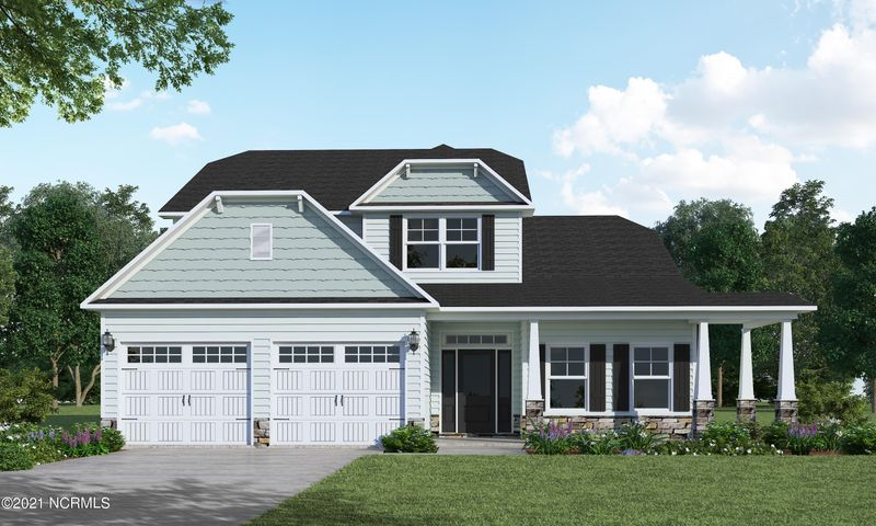 HOME IS UNDER CONSTRUCTION EST. JULY 2021!!! Welcome home to the coastal community of The Preserve at Tidewater!  The Granville plan by award winning, top 100 builder Caviness & Cates features 4 beds, 2.5 baths and over 2,800 sq. ft. of open living space.  Off the spacious foyer is a large dining room with coffered ceiling.  Just beyond, the home open to the huge great room with a fireplace and fully equipped kitchen with stainless steel appliances, bar seating and a pantry.  Adjoining the kitchen is the breakfast area which offers entry into the light-filled Carolina Room.  The first floor master with tray ceiling and crown molding leads into the large master bath with an adjoining WIC.  The 2nd level features 3 bedrooms, a full bath and media room.  Pictures are of a similar home.