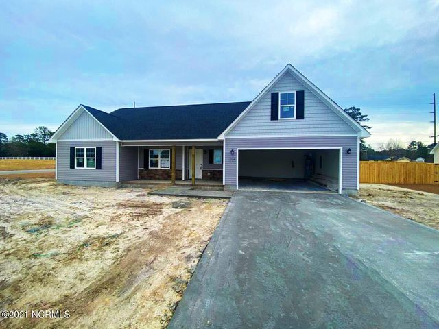 Welcome to Swansboro's newest premier home community: Heron Watch at Queen's Creek! This community is located just minutes from Camp Lejeune, historic Swansboro, the Crystal Coast's finest beaches, area shopping & more and has NO city taxes! The homes are pristinely landscaped for added curb appeal and adorned with a mixture of eye-catching stonework, carriage-style garage doors, two-toned vinyl siding, board and batten, and decorative shakes! The open floor plans are perfect for entertaining, and the rich cabinetry finishes and wall colors add warmth and dimension to the space. The large rooms and walk-in closets are also sure to please! For the buyer who has very specific design and color requests, these homes can be customized to reflect your own personal style. The diverse floor plans will also ensure that your needs for both functionality and aesthetic appeal are always met! Very affordable and built with a superior quality standard and customer service guarantee, this community's amenities, homes, value, and location are a very rare find! Schedule your showing today!!