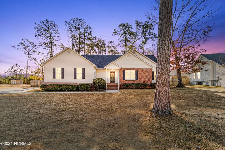 NEW NEW and More NEW! Welcome home to Hunters Creek. This 1 story 3 Bedroom 2 Bathroom home has been recently updated. New Roof, New Paint, New Flooring. Kitchen features New Cabinets, Countertops and Appliances.  Bathrooms have also been updated. Back Porch is covered and opens up to a huge fenced in back yard. Community has amenities to include Common areas with private community cabana with bathrooms, in ground swimming pool, observation dock, boat dock and launch. This HOME has it ALL! Professional Photos Coming Soon