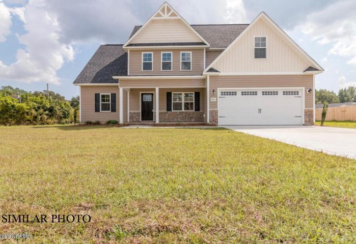 Welcome to The Cole floor plan with a finished bonus room, in Meadow Woods! Ready to own your own home? We have a large variety of home plans to choose from with many features and upgrades. The Kitchen includes a smooth top stove, dishwasher, and microwave...making meal prep quick and easy! The master bath includes his and her sinks and a bathtub that is great for a little R&R (bubbles sold separately). Worried about closet/storage space? Don't be! There will be no argument of who's clothes have to go where, we've got you covered. This floor plan is perfect for you. Call today for a private tour!