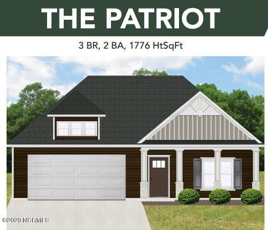 : We want to introduce to you, the Patriot floor plan, which is nestled in Jacksonville's much desired subdivision, The Farm @ Hunter's Creek. This beautiful home boasts 3 spacious bedrooms, 2 Baths, and an attached two-car garage. I would like to draw your attention to the large Open Concept Kitchen an island for extra counter space and storage! The Family Room features a cozy fireplace for your family on those chilly winter nights. Your accommodating Master Bedroom boasts a large walk-in closet, and a dual vanity in the Master Bath. You can enjoy your new home in this country setting with the convenience of a short drive to area shopping, restaurants, gorgeous North Carolina Beaches, and the Camp Lejeune Piney Green gate, right across the street from Hunters Creek