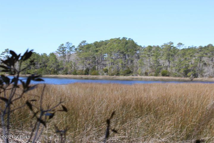 WATERFRONT lot located on Halls Creek in Swans Bluff. 3 Bedroom Septic System all ready installed.  Lot is approximately 1.57 acres. Community features a dock and is conveniently located to Historic Downtown Swansboro, area beaches, bases and more!