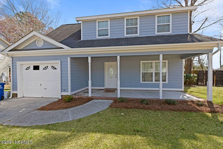 This beauty of a two story home just had all new interior paint, exterior paint, new flooring upstairs, gorgeous new granite in  the kitchen, a new deluxe Bath Fitters shower in the master bathroom and so much more!  Located in the Sharon Hills neighborhood, you can walk to shopping and more. The yard features a generous size deck perfect for spring and summer gatherings.
