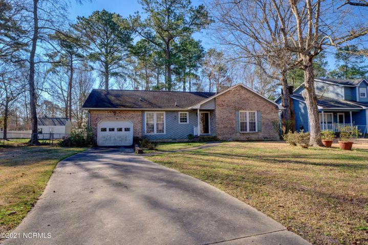 This well kept home is tucked away in the Beechtree Hollow community. Located outside of city limits but offers the convenience of a short drive to several different shopping centers. With a little over 1200 sqft this home offers 3 spacious bedrooms with 2 full baths. Spacious living room and beautiful Kitchen is laid out nicely to allow plenty of space to cook dinner while enjoying company at your dining room table. This master suite offers a walk in closet, spacious master bath,  Out back you will love the spacious wooded back yard and large deck.  Call today for your private showing!