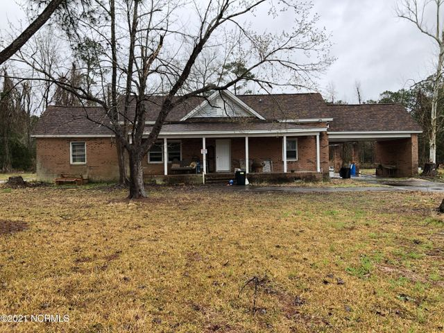CASH PURCHASE ONLY! This brick home sits on 2.73 acres, with a cinderblock barn and part of a pond. The home is in a major state of disrepair. A Release of liability form will need to be signed prior to entry in the home. Do not enter the house with out permission of the listing agent!! No children allowed to enter house for safety reasons.