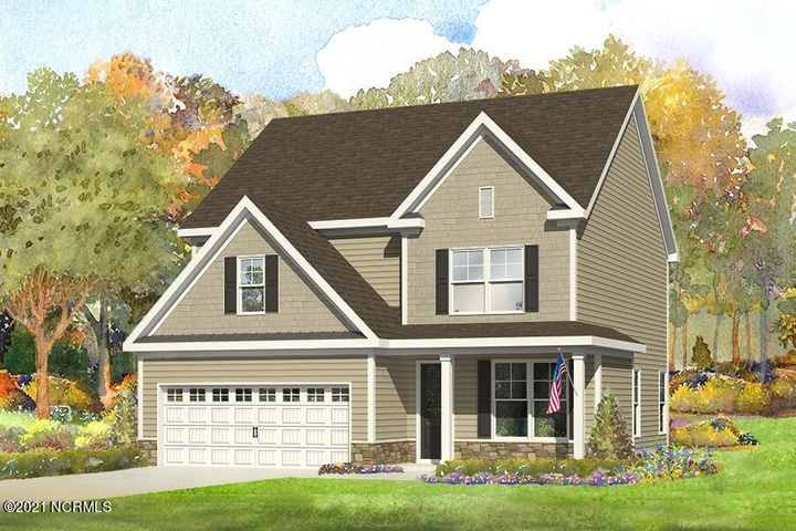 Katherine rendering - Tarin Woods Townhome For Sale
