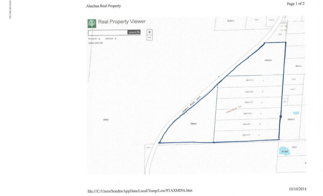00 COUNTY ROAD 219-A, MELROSE, FLORIDA 32666, ,Vacant land,For sale,COUNTY ROAD 219-A,740793