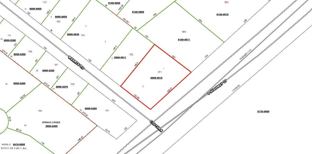 571 HIGHWAY 17, SAN MATEO, FLORIDA 32187, ,Vacant land,For sale,HIGHWAY 17,756903
