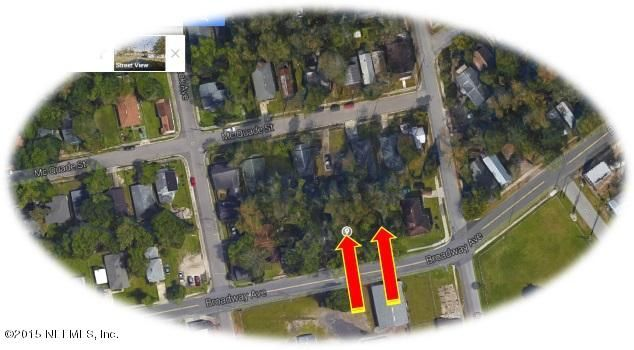 BROADWAY, JACKSONVILLE, FLORIDA 32209, ,Vacant land,For sale,BROADWAY,774882