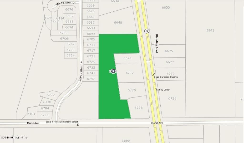 6670 BLANDING, JACKSONVILLE, FLORIDA 32244, ,Vacant land,For sale,BLANDING,782400
