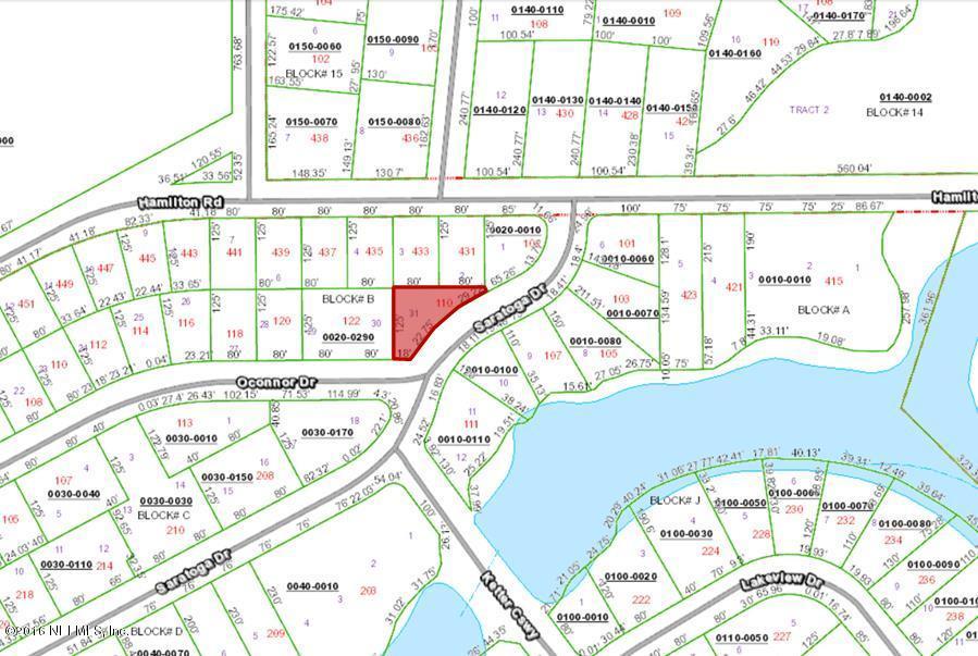 110 SARATOGA, SATSUMA, FLORIDA 32189, ,Vacant land,For sale,SARATOGA,820517