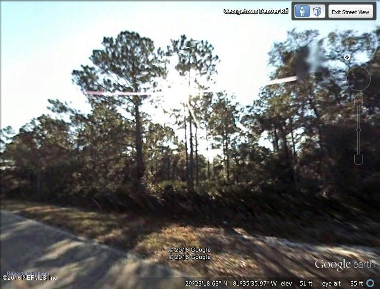 361 GEORGETOWN DENVER, GEORGETOWN, FLORIDA 32139, ,Vacant land,For sale,GEORGETOWN DENVER,826568