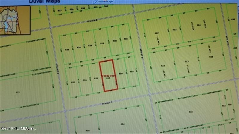 615 5TH, JACKSONVILLE BEACH, FLORIDA 32250, ,Vacant land,For sale,5TH,843416