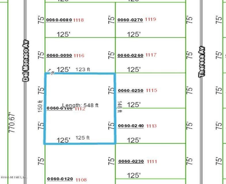 1112 DEL MONACO, INTERLACHEN, FLORIDA 32148, ,Vacant land,For sale,DEL MONACO,855678