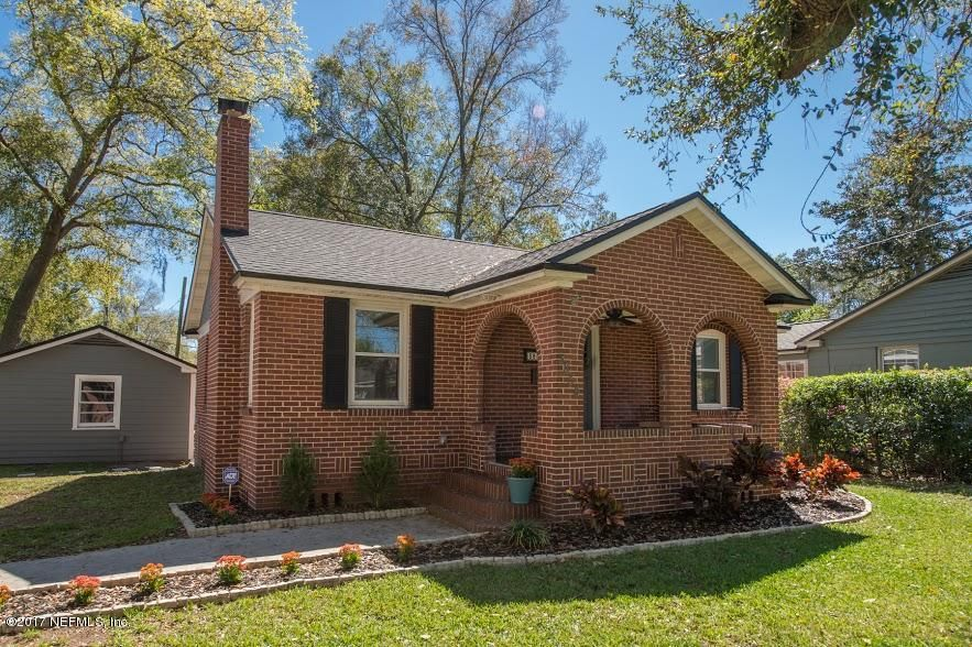 3854 park st in avondale jacksonville fl historic home for Avondale park homes