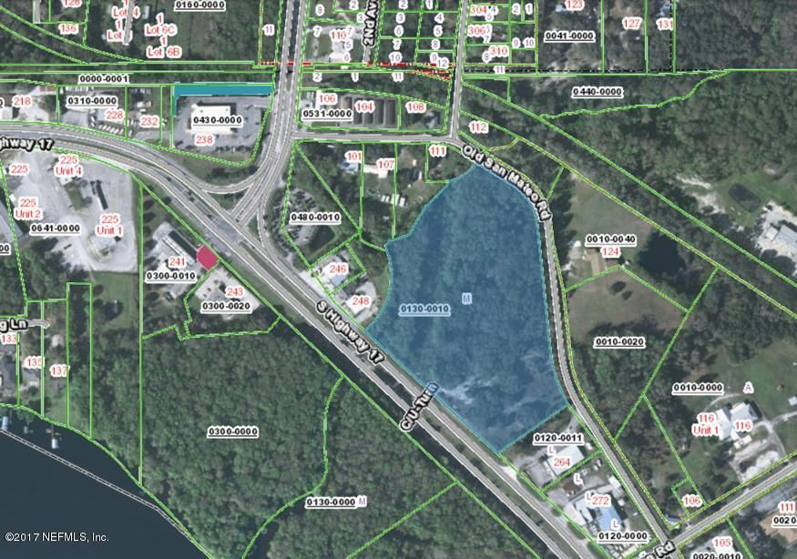 256 HIGHWAY 17- EAST PALATKA- FLORIDA 32131, ,Vacant land,For sale,HIGHWAY 17,878628