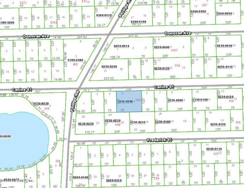 CANINE- INTERLACHEN- FLORIDA 32148, ,Vacant land,For sale,CANINE,881469