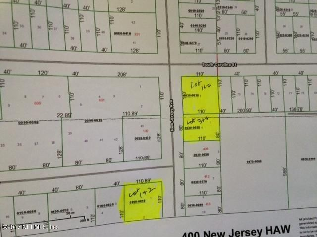 400 NEW JERSEY, HAWTHORNE, FLORIDA 32640, ,Vacant land,For sale,NEW JERSEY,898309